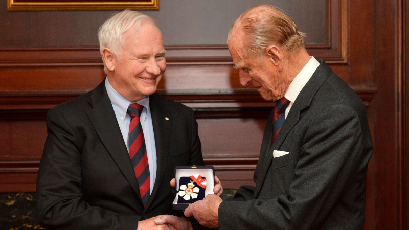'He found his way': David Johnston on Prince Philip's legacy