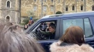 Prince Edward and Sophie of Wessex depart