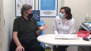 Toronto Mayor John Tory gets first vaccine dose