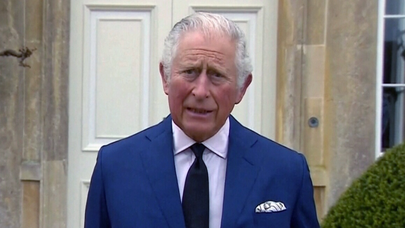 Prince Charles addresses the Commonwealth
