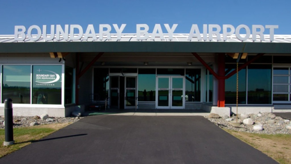 Boundary Bay Airport is seen in this photo from the facility's website. (czbb.com)