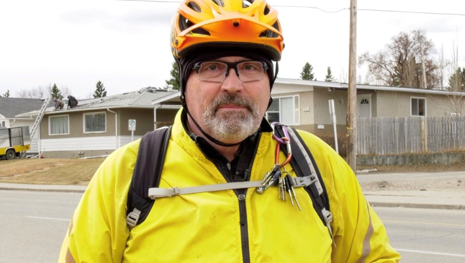 calgary, bicycle, crash, pedestrian, safety, road