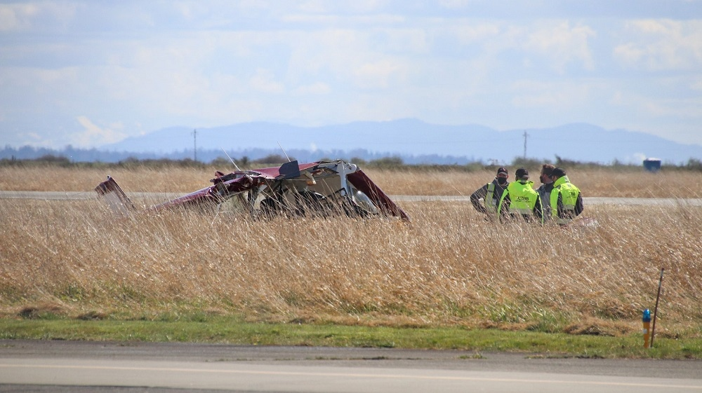 Boundary Bay plane crash