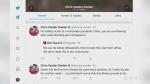 Reaction to Ward 3 Essex town councilor Chris Vander Doelen's tweet, Friday (Alana Hadadean / CTV News)