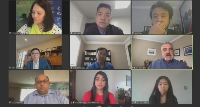 anti-Asian racism panel