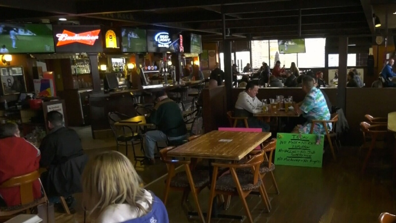 Local restaurant stays open despite restrictions