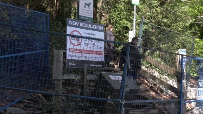 Hikers still flocking to closed North Shore trail