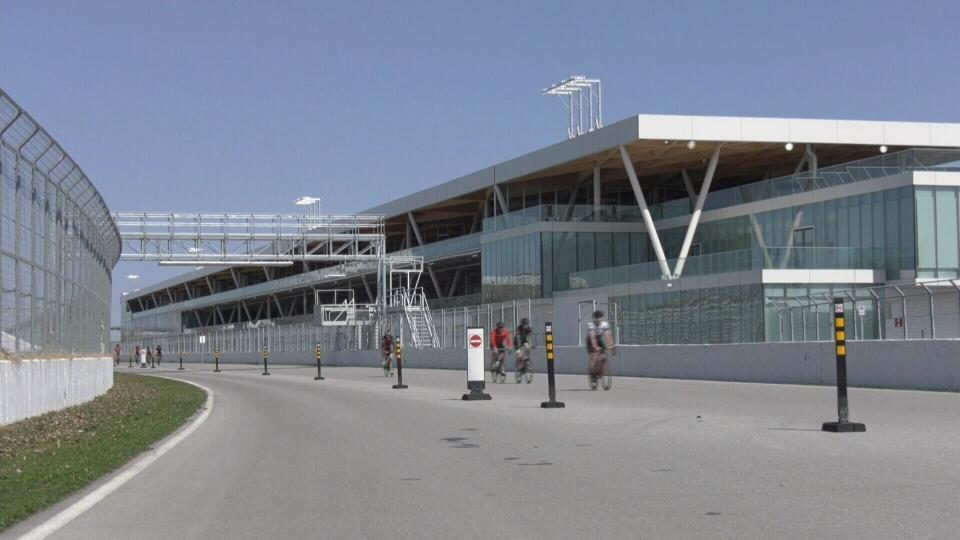 Montreal Grand Prix track