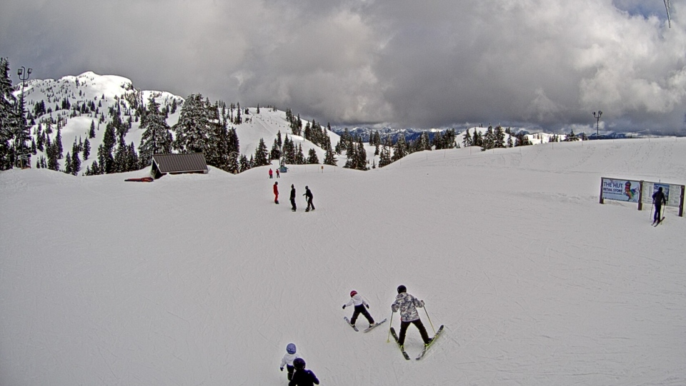 Mount Seymour ski slope