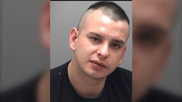 """Cameron Lawrence Robert Trodd is described as 5'10"""" weighing approx. 163 lbs with a thin build, brown eyes, and short black hair. He is clean shaven with a scar on his right hand. (Supplied)"""