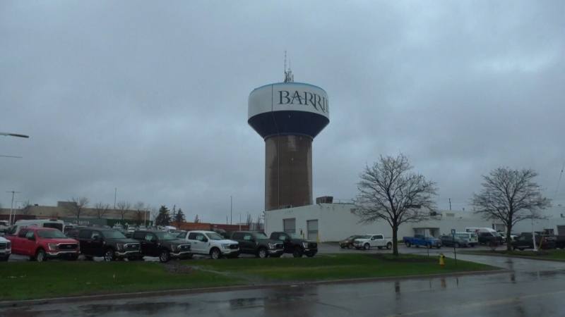 Barrie water tower due for a refresh
