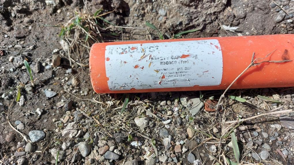 Oak Bay explosive device