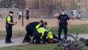 Montreal violent arrest