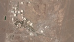 This satellite photo from Planet Labs Inc. shows Iran's Natanz nuclear facility on Wednesday, April 7, 2021. (Planet Labs Inc. via AP)