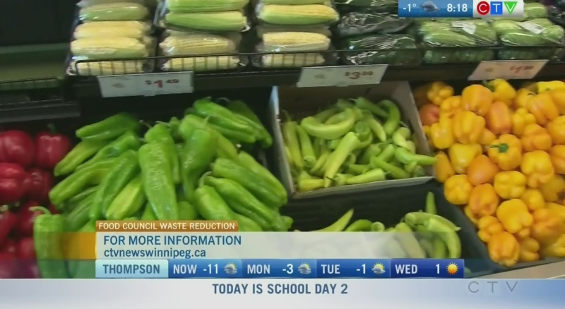 Reducing food waste in Winnipeg