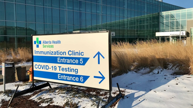 Edmonton immunization clinic, EXPO Centre