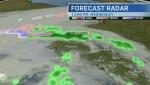 Some rain to start the northern work week