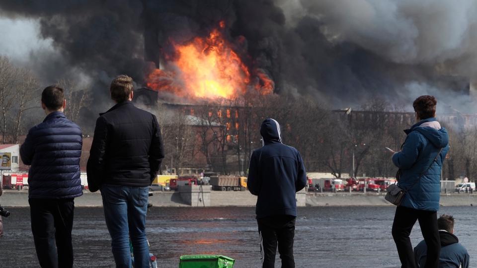 Russia Fire