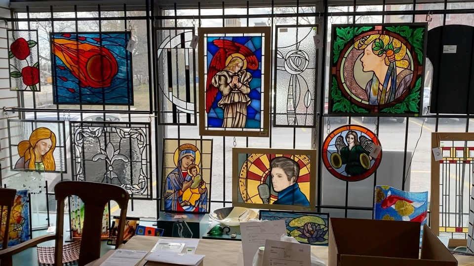 Stained glass art Northern Art Glass