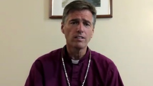 Bishop Michael Hawkins has been hospitalized twice because of lingering effects from COVID-19.