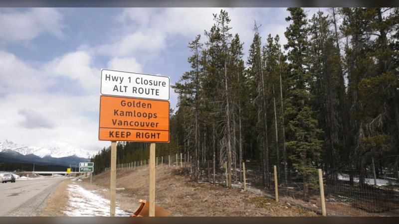Truck drivers are irked that parts of the Trans-Canada highway are being rerouted to allow workers to twin the highway this spring and summer