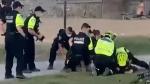 Police investigate violent arrest