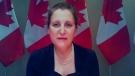 Freeland announces COVID-19 aid for Air Canada