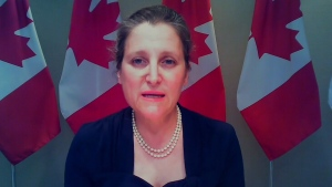 Freeland announces COVID-19 aid for Air Canada