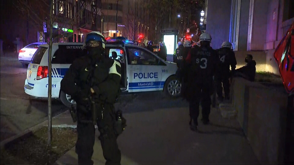 Curfew protest April 12