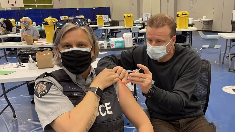 Surrey first responders get access to vaccine