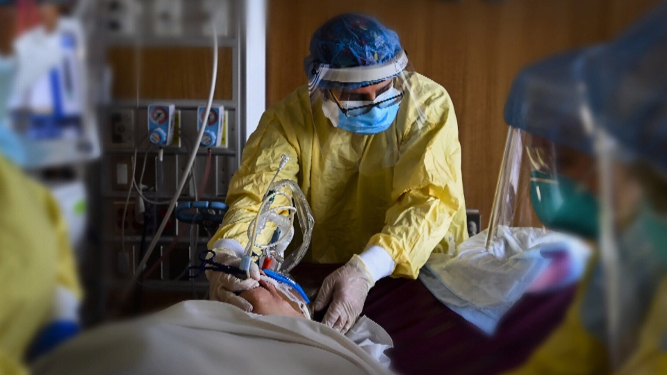 Inside Ontario's hard-hit hospitals, staff are stretched thin, with experts warning that the third wave could cause ICUs to fill up with more patients than there are doctors and critical care nurses to treat them.
