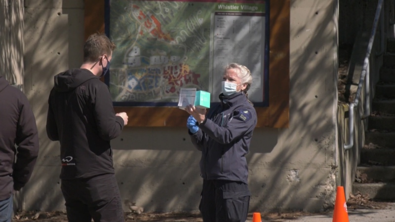 Whistler residents vaccinated for COVID-19
