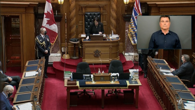 NDP throne speech April 2021