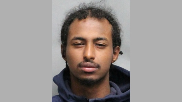 Mohamed Hassan Is pictured in this handout photo released by Toronto police.