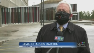 Jean-Charles Cachon, Laurentian University economics professor. April 12/21 (Ian Campbell/CTV Northern Ontario)