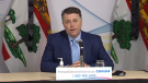 """""""We just committed to try to scour the province, you know, to find as many available bodies as possible,"""" said Prince Edward Island Premier Dennis King."""
