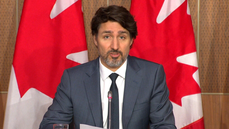 WATCH LIVE: PM Trudeau addresses Canadians on COVID-19