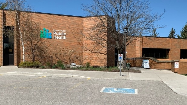 The Huron Perth Public Health building is shown in this file image (Natalie van Rooy / CTV News Kitchener)