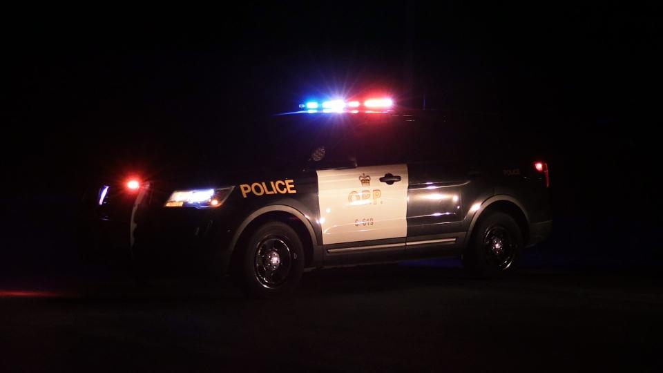 OPP cruiser at night