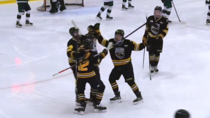 Watch an impressive goal from Port Moody's Tattle
