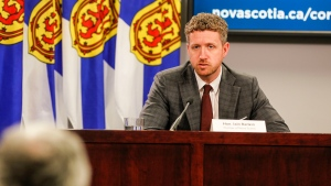 Nova Scotia Premier Iain Rankin says effective 8 a.m. on April 15, New Brunswickers will once again be required to self-isolate for 14-days upon arrival in Nova Scotia and will be required to complete the Nova Scotia Safe Check-in form. (Photo courtesy: Communications Nova Scotia)