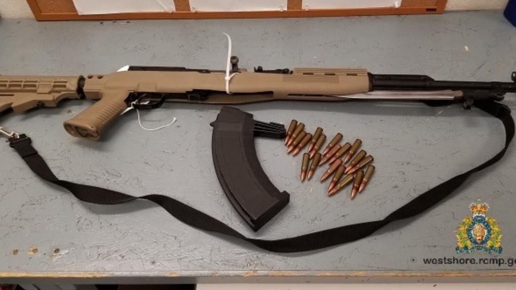 Malahat gun seized