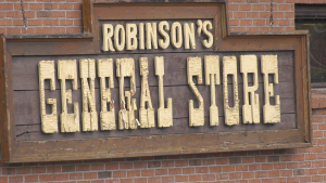 Robinson General Store in Dorset, Ont. on Tues. April 13, 2021 (Kraig Krause/CTV News)