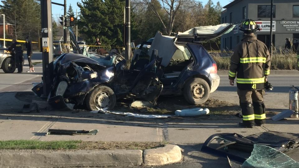 Collingwood crash