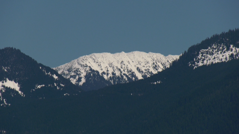 Mountains in Chilliwack, B.C.