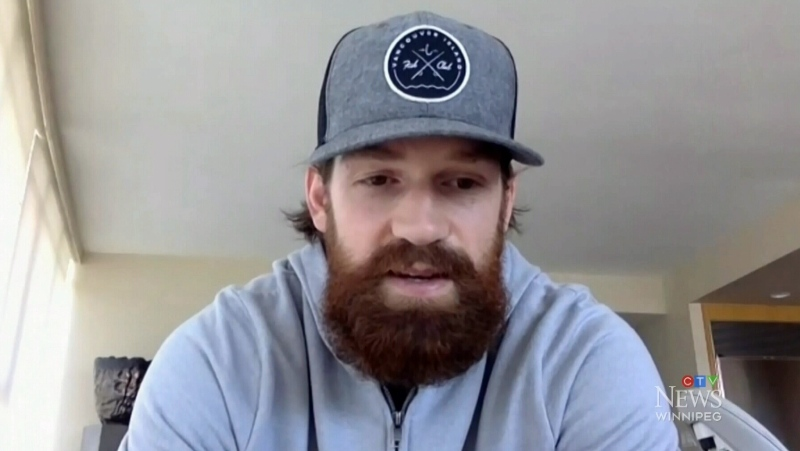 Jordie Benn excited to be with Winnipeg Jets