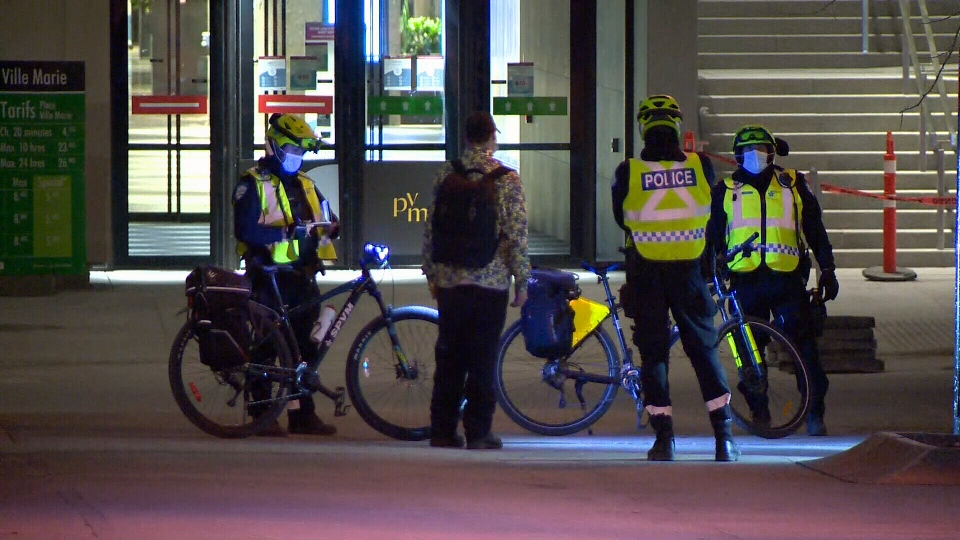 Third night of curfew protests Montreal
