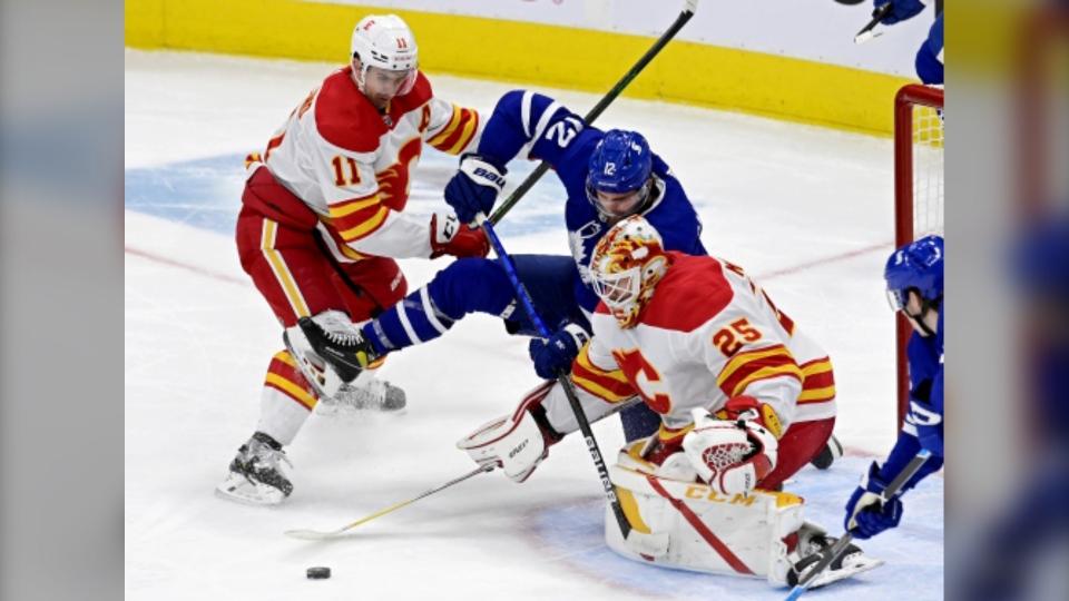Calgary Flames Toronto Maple Leafs