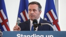 File photo. The Alberta government says it plans to join three other provinces in exploring small-scale nuclear technology. Alberta Premier Jason Kenney comments on the Teck mine decision in Edmonton on Monday, Feb. 24, 2020. THE CANADIAN PRESS/Jason Franson