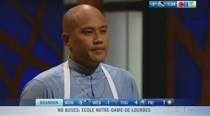 Jeremy Senaris reflects on MasterChef Canada run